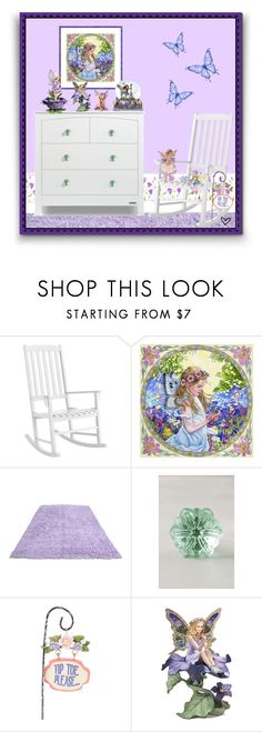 """~Fairy Land~"" by justwanderingon ❤ liked on Polyvore featuring interior, interiors, interior design, home, home decor, interior decorating, Pier 1 Imports, Anthropologie, Giftcraft and The Bradford Exchange"