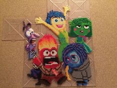 inside out perler beads ideas - Google Search
