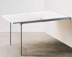 Oltre 1000 immagini su tavoli a muro pensili a scomparsa - Tavolo allungabile a ribalta ...