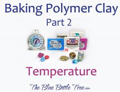 Polymer clay, also called polyclay or fimo, is a modeling material that you can cure or bake at home in your regular oven. Today I'm finishing my series on How … How to Bake Polymer Clay: Part 3 – Tips and Tricks Read Baking Polymer Clay, Polymer Clay Tools, Sculpey Clay, Polymer Clay Projects, Polymer Clay Creations, Polymer Clay Beads, Metal Clay, Biscuit, Do It Yourself Jewelry