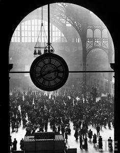 Pennsylvania Station. New York, 1943. By Alfred Eisenstaedt