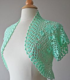 30 Easy To Make Crochet Simple Shrug Ideas | DIY to Make