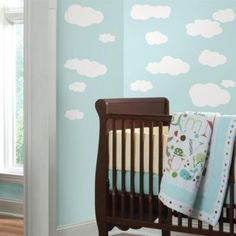 Sweeten up your little one's room with these adorable wall decals! Removable and repositionable stickers, these decals will delight you and your child!