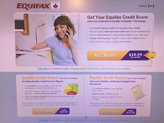 DO YOU KNOW YOUR CREDIT SCORE?  DO YOU HAVE AN UPDATED EQUIFAX REPORT?