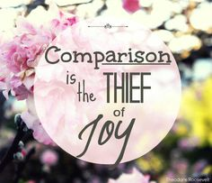 One of my blogger friends recently wrote a blog post on the topic of comparison and I absolutely can relate. As women we are all very aware of comparison within our own lives, whether it be in refe…