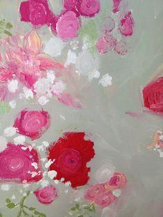 LiveLoveDIY: How To Make Easy Floral Art
