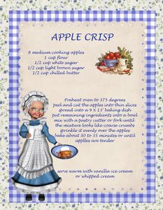 Recipes 2 - tiziana - Picasa Web Albums- APPLE CRISP