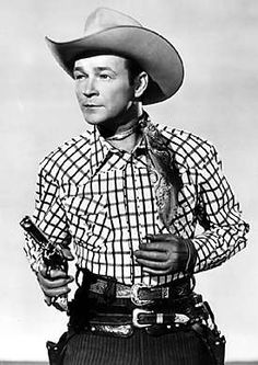 Roy Rogers - great American hero to many boys of the 1940s and 1950s. Also a great man, a great human being and not a bad singer along with wife Dale Evans.