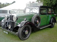 1934 Morris Oxford 16 saloon with 2107cc engine