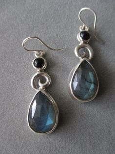 One of a Kind Sterling Silver Labradorite by RichelleJewelry