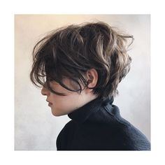 Lovely messy look pixie cut