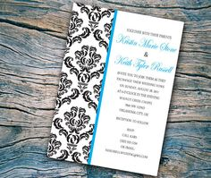Printable Wedding Invitation DIY. I love these, @Troy Taylor What do you think?