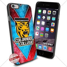 "NCAA-Colorado College Tigers,iPhone 6 4.7"" Case Cover Protector for iPhone 6 TPU Rubber Case Black SHUMMA http://www.amazon.com/dp/B0154ONA26/ref=cm_sw_r_pi_dp_xLaewb1HB1SGW"