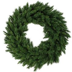 Create a festive focal point with the Northlight Artificial Lush Mixed Pine Unlit Christmas Wreath . This Christmas wreath features a flame-retardant. Artificial Christmas Wreaths, Christmas Tree Wreath, Christmas Decorations, Holiday Decorating, Holiday Wreaths, Holiday Ideas, Holiday Gifts, Merry Christmas, Green Christmas
