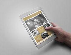 electronic direct mail design Layout Design, Design Art, Graphic Design, Direct Mail Design, Interactive Design, Edm, New Work, Adobe, Behance