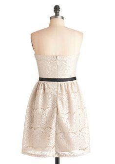 Exquisite Visit Dress, #ModCloth