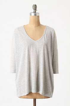 Full Stripes Ahead Pullover #anthropologie