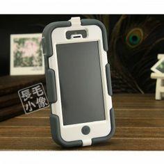 Griffin Survivor iPhone 5/5S Case - Grey/White