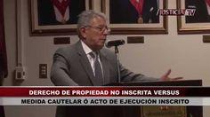 Derecho de propiedad no inscrito vs. medida cautelar o acto de ejecución inscrito, por Juan Monroy Gálvez