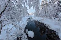 Municipality of Kemijärvi in Finnish Lapland. Ponds, Waterfalls, Rivers, Lakes, Finland, Film, Outdoor, Movie, Outdoors
