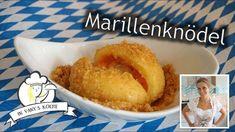 Marillenknödel mit Butterbrösel - Rezept von Vanys Küche Butter, Cornbread, Ethnic Recipes, Food, Apricot Recipes, Food Food, Meal, Eten, Meals