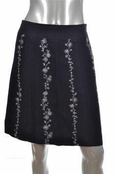 New Ann Taylor Loft White Black Floral Sleeveless V Neck