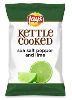 Wouldn't sea salt pepper and lime be yummy as a chip? Lay's Do Us A Flavor is back, and the search is on for the yummiest flavor idea. Create a flavor, choose a chip and you could win $1 million! https://www.dousaflavor.com See Rules.
