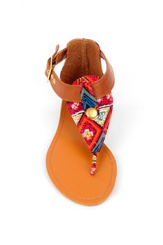 Ashley Woven Sandals - Tobi