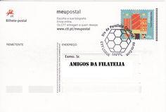 Bilhete postal enviado de Lisboa para Estoi com carimbo comemorativo alusivo à paralisia cerebral