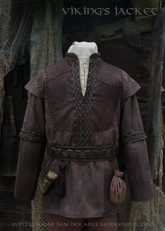 Please note that we will need some time for making your order. If your size is not listed, or you have any questions, please contact us. :) ____________________________________________________________________________________  We finished work on the jacket based on TV series Vikings. :) For a basis was taken the one of the Ragnars jackets , however, the customer wanted to make some design changes (e.g., shoulders). :) So in the end weve got something new ... something that could be easily…