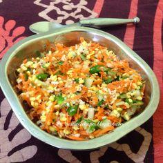 Allspice: Carrot and Cucumber Kosambari-Carrot and Cucumber ...