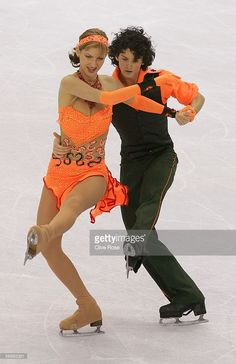 Nora Hoffmann and Attila Elek Hungary perform during the Free Dance program of the figure skating during Day 10 of the Turin 2006 Winter Olympic Games on February 20, 2006 at Palavela in Turin, Italy.
