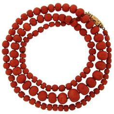 Preowned Victorian Coral Bead Strand Necklace With Enameled Yellow... ($13,600) ❤ liked on Polyvore featuring jewelry, necklaces, yellow, yellow necklace, victorian choker necklace, beaded necklaces, gold choker and beaded choker necklace