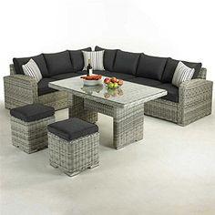 GLENDALE Broad Water Corner Lounge Set
