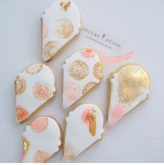 Just the best inspiration from Nectar and Stone, Ice cream cookies Cookie Frosting, Royal Icing Cookies, Cake Cookies, Sugar Cookies, Frosted Cookies, Cakepops, Bolacha Cookies, Nectar And Stone, Cupcakes Decorados
