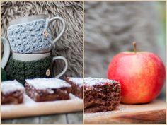 Herzenswärme: HERBSTGEFLÜSTER Caramel Apples, Autumn, Winter, Desserts, Handmade, Food, Fall, Winter Time, Tailgate Desserts