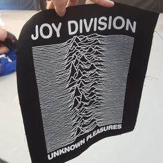 Checkout this amazing Joy Division back patch @w31r_nt got me! Can't wait to get this on a gi! #BJJ #FactoryBJJ #BJJinManchester #JoyDivison #UnknownPleasures