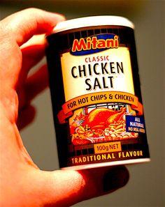 "The Hirshon Australian ""Chicken Salt"" - ✮ The Food Dictator ✮ Aussie Food, Australian Food, No Salt Recipes, Chicken Recipes, Cooking Recipes, Seasoning Mixes, Chicken Seasoning, Spice Blends, Spice Mixes"