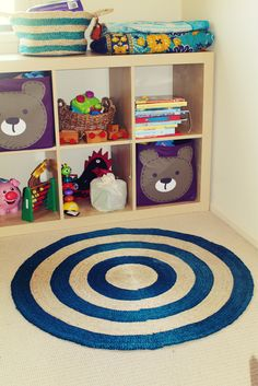 Style your children's rooms with Fair Trade sustainable jute Floor Mats and other decor.