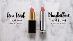 Maybelline Naked Coral - Dupe for Tom Ford First Time Coral Lipstick, Lipstick Dupes, Lipstick Colors, Lipsticks, Skincare Dupes, Beauty Dupes, Beauty Makeup, Makeup Geek, Tom Ford Lipstick