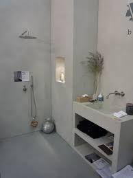 Afbeeldingsresultaat voor badkamer betonlook