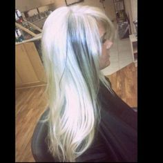 platinum blonde hair ❤️