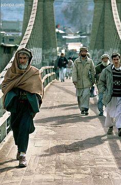 Gilgit bridge, Hunza, Pakistan