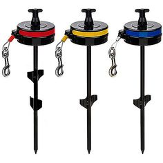Howard Pet Products Retractable Dog Cable Tie Out -- Keep your pet on a leash…