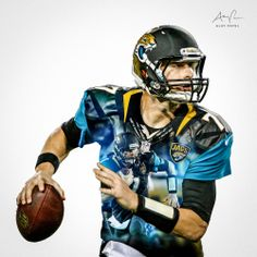 Chad Henne, QB, Jacksonville Jaguars. Design by: Alay Patel. March 2014