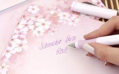 Schneider Base Rosé Füller mit Strichstärke M ❤️