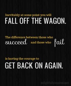 April over at Delightfully Inspired made this quick reminder for those you fall in a rut with a certain goal!