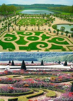 Gardens of Versailles - The palace is incredible, but the gardens are outstanding.