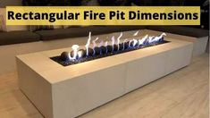Are you looking for rectangular fire pit dimensions? But you are confused about its size, dimension then you are here at the right place. Rectangular Fire Pit, Square Fire Pit, Fire Pit Size, Fire Pits, Portable Propane Fire Pit, Fire Pit Dimensions, Fire Bowls, Confused, Patio