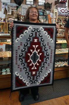 Navajo Weaving, Navajo Rugs, Hand Weaving, Native Art, Native American Art, Southwestern Rugs, Navajo Pattern, Native Design, Men's Sweaters